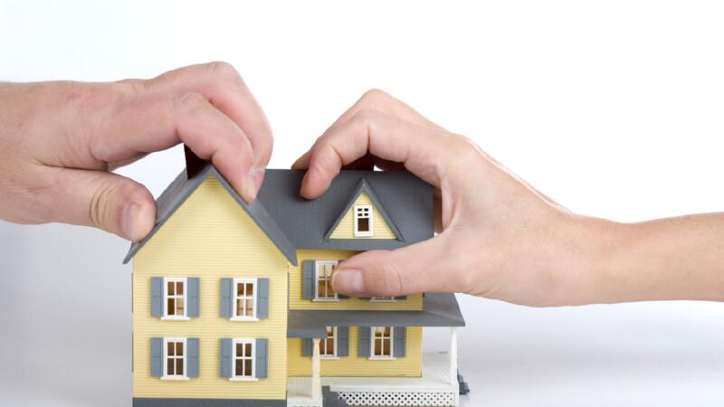 Как поделить дом?