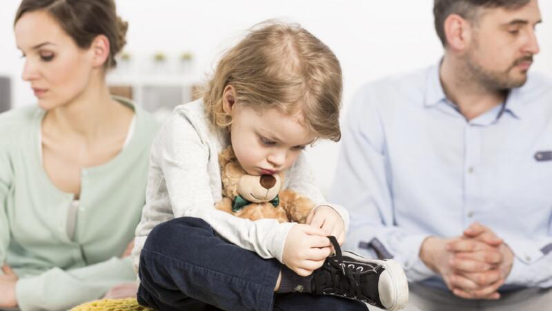 Как разделить собственность, если в браке есть дети