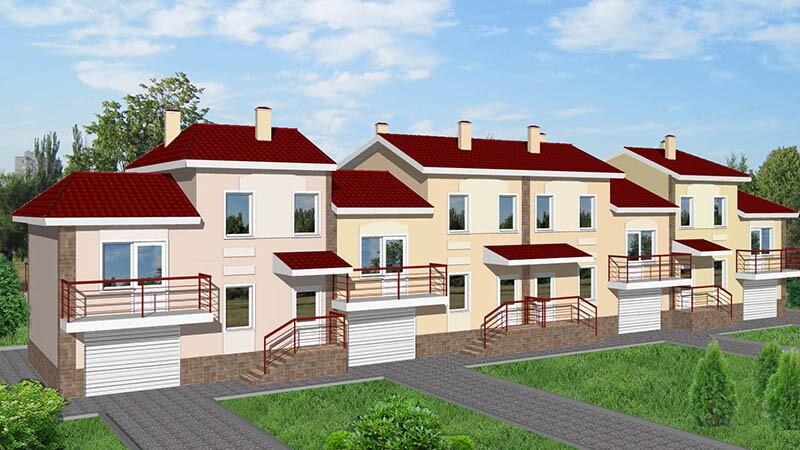Правильный раздел дома двухквартирного типа