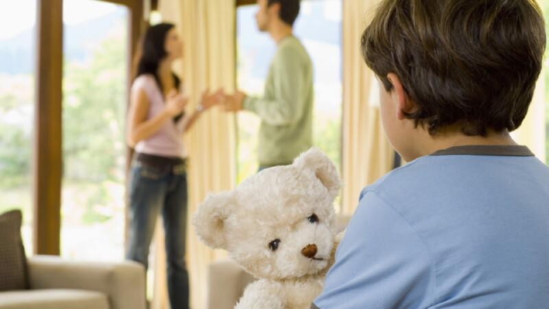 Процедура раздела при разводе с детьми