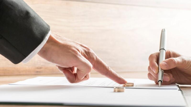 Брачный контракт, как вариант раздела имущества без развода