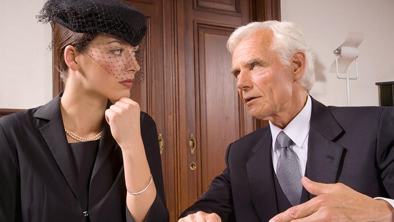 Перераспределение собственности при смерти одного из супругов