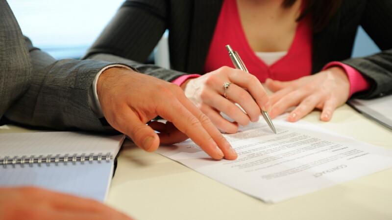 Подписание соглашения о разделе