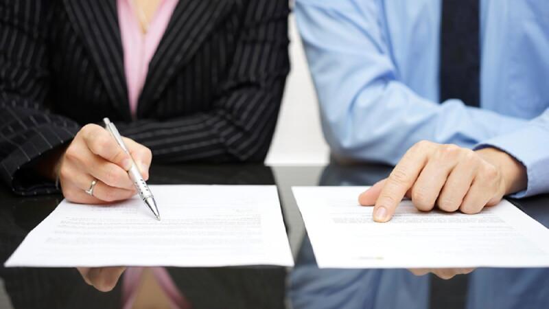 Законность соглашения, составленного супругами