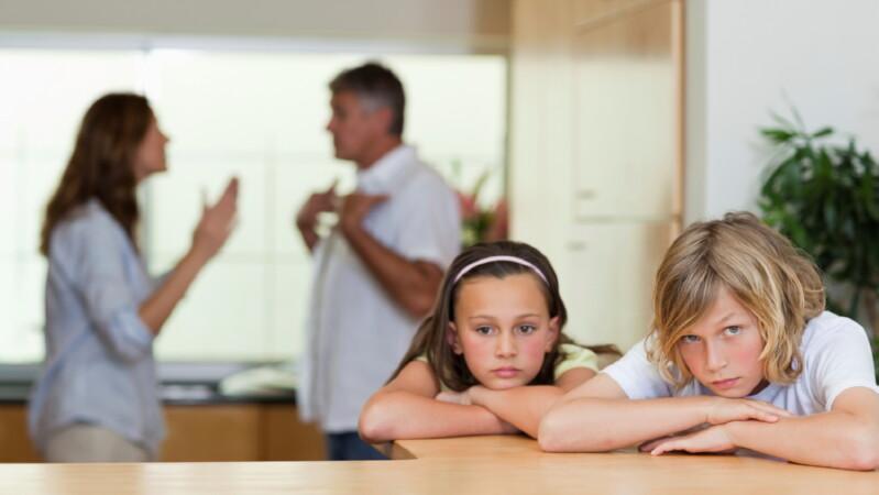 Как разделить детей при разводе?